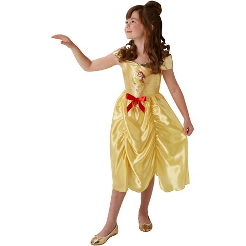 Childs Disney Fairytale Princess Belle Fancy Dress Costume Age 7-8 Years