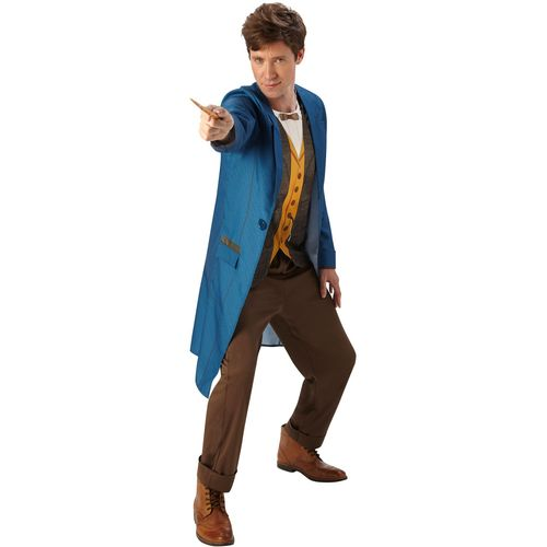 Newt Scamander Fantastic Beasts Harry Potter Fancy Dress Costume Size XL