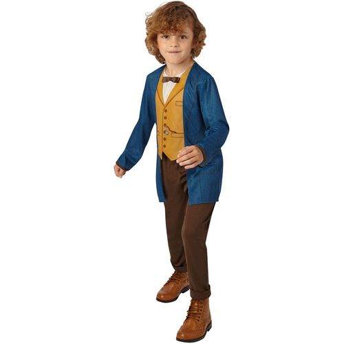 Childs Newt Scamander Fantastic Beasts Fancy Dress Costume Age 5-6 Years