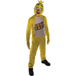 Childs Chica Five Nights At Freddys Costume Age 8-10