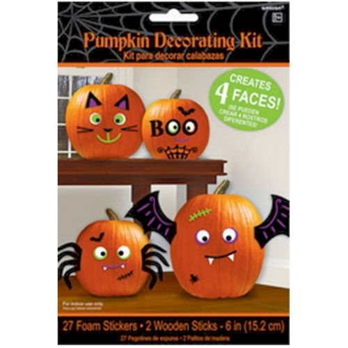Pumpkin Room Decorating Kit 29 Piece Halloween Party Accessory