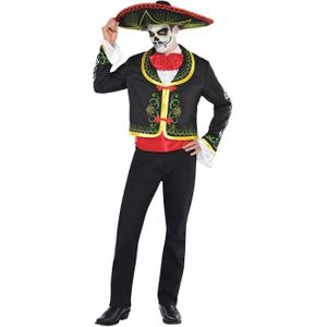 Day of the Dead Senor Plus Size Fancy Dress