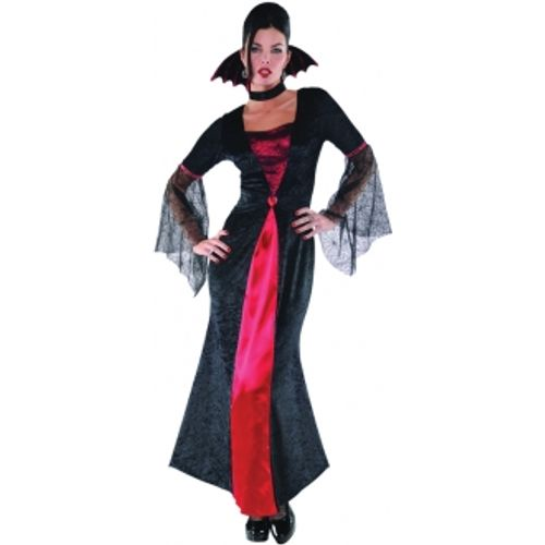 Countess Vampiretta Halloween Fancy Dress Costume Size 14-16