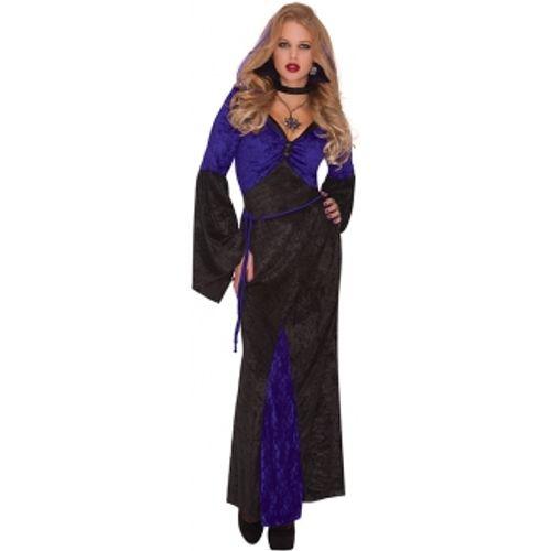 Mistress Of Seduction Vampire Halloween Fancy Dress Costume Size 14-16