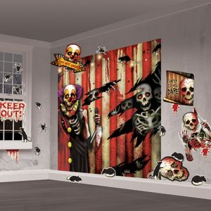 Creepy Carnival Wall Decoration Kit