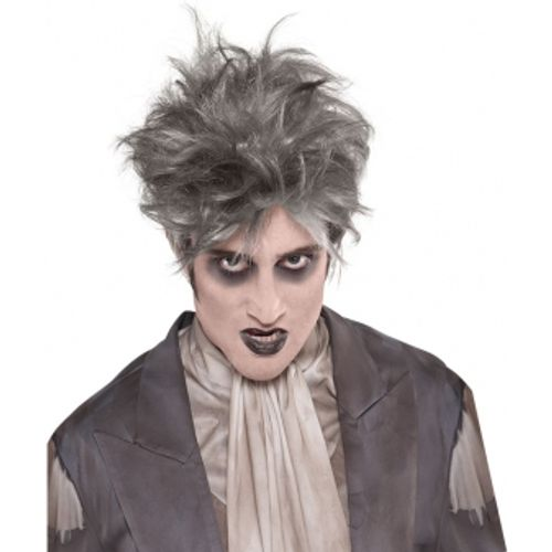 Zombie from the Crypt Fancy Dress Wig Halloween Costume Accessory