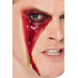 Zip Face Latex Scar Kit