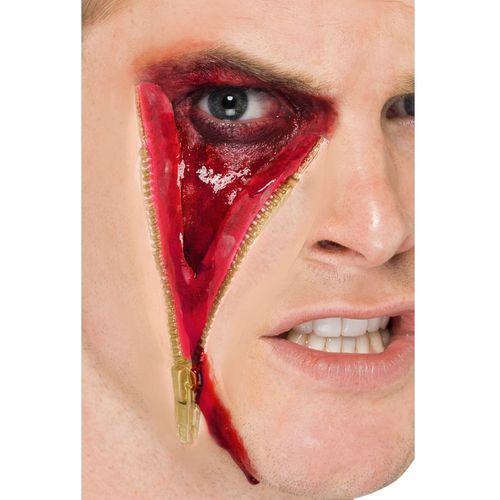 Zip Face Latex Scar Kit  Halloween Make Up Fancy Dress Costume Accessory