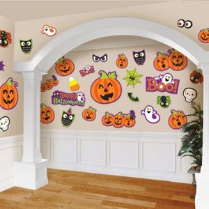 Cut Out Decorations Cute Halloween Characters 30 Pack