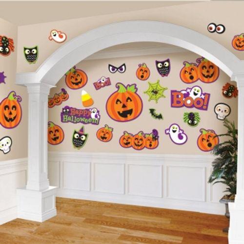 Cut Out Decorations Cute Halloween Characters 30 Pack Party Room Accessory
