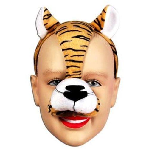 Noisy Tiger Mask On Headband Fancy Dress Animal Costume Accessory