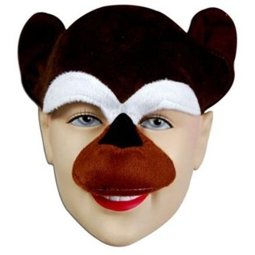 Fancy Dress Monkey Chimp Mask Animal