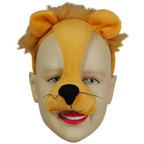 fancy dress Noisy Lion Animal Mask On Headband