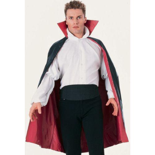 Black & Red Cape Ex Hire Sale Free Size Halloween Fancy Dress Costume