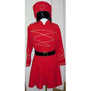 Miss Toy Soldier Ex Hire Sale Costume Size 16-18
