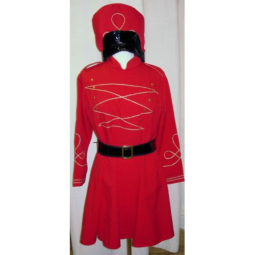 Miss Toy Soldier Ex Hire Sale Christmas Fancy Dress Costume Size 16-18