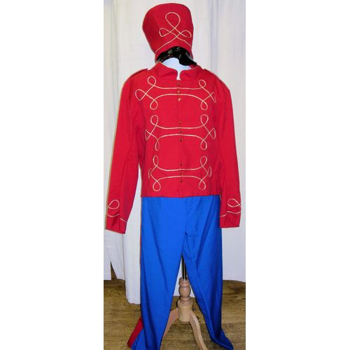 Toy Soldier Ex Hire Sale Christmas Fancy Dress Costume Size L