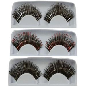 False Eye Lashes 3 Pack (Mixed Colours)