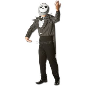 Jack Skellington Nightmare Before Xmas Costume Size XL