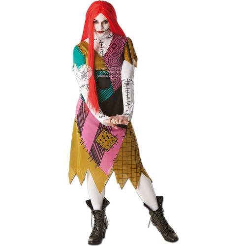 Sally  Nightmare Before Christmas Fancy Dress Costume Size 8-10