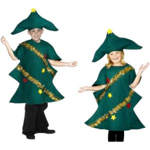 Childs Christmas Tree Costume Age 10-12 Years