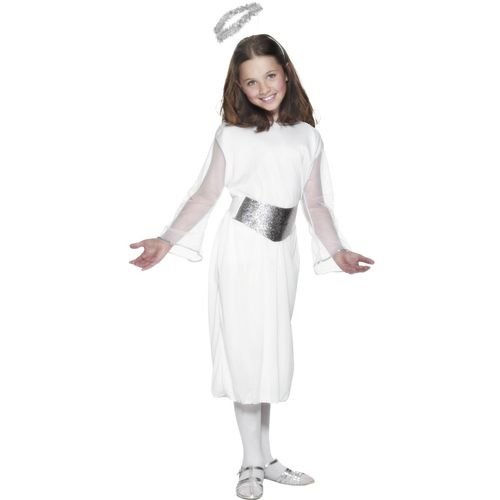 Childs Nativity Angel Christmas Fancy Dress Costume Age 4-6 Years