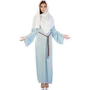 Virgin Mary Nativity Costume Size 10-14