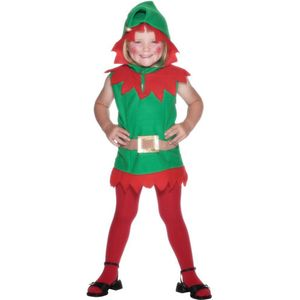 Childs Elf Costume Toddler Age 2-3 Years