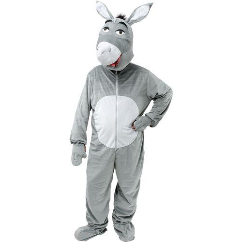 Donkey  Nativity Big Head Mascot Fancy Dress Christmas Animal Costume