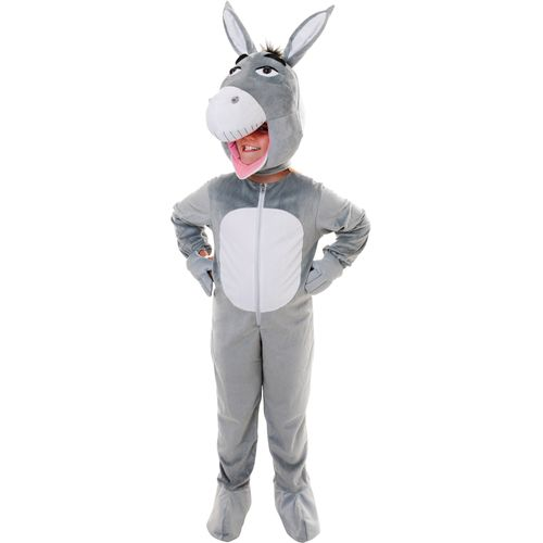 Donkey Big Head Fancy Dress Costume Outfit Age 9 - 11 Years Kids Childs
