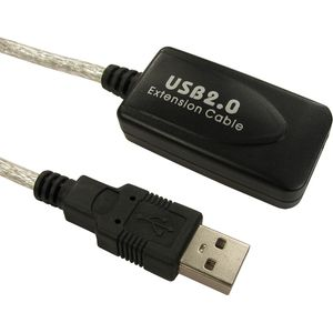 USB 2.0 Active Extension Cable (M to F) - 5m