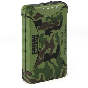Camouflage Dual Power Charger 11200mAh Water Resistant