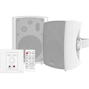 Vision TC3-AMP & SP-1800 Audio Speaker Bundle