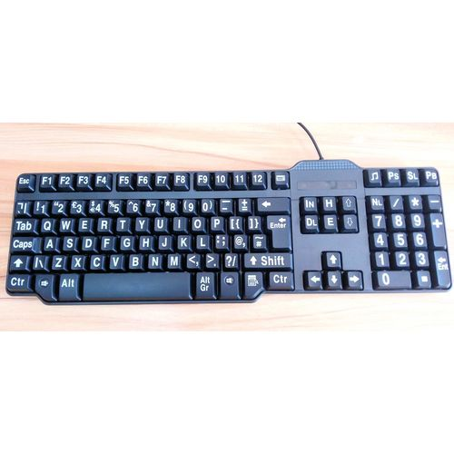 Easy2Read Classic Keyboard  (Large Print for Visually Impaired)