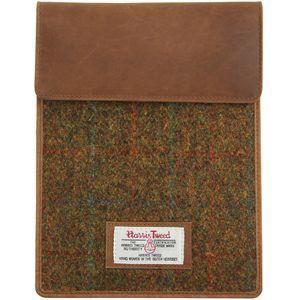 Harris Tweed Tablet Sleeve Case: Stornoway Brown Check