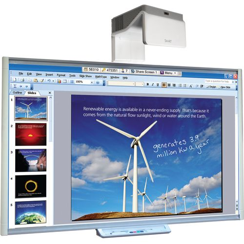 "SMART Board 685 87"" With UF75w Projector"