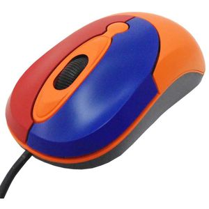 Childrens Computer Starta Mouse USB Orange - Small Size