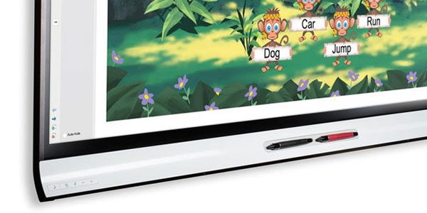 Touchscreens 4k UHD interactive panels.