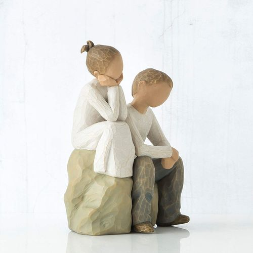 Willow Tree Brother and Sister Figurine 26187