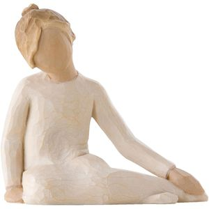 Willow Tree Thoughtful Child Figurine Girl