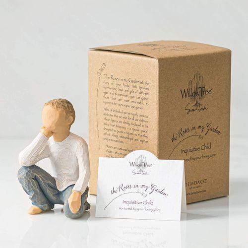 Willow Tree Inquisitive Child Figurine 26227