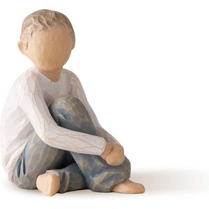 Willow Tree Caring Child Figurine (Boy)