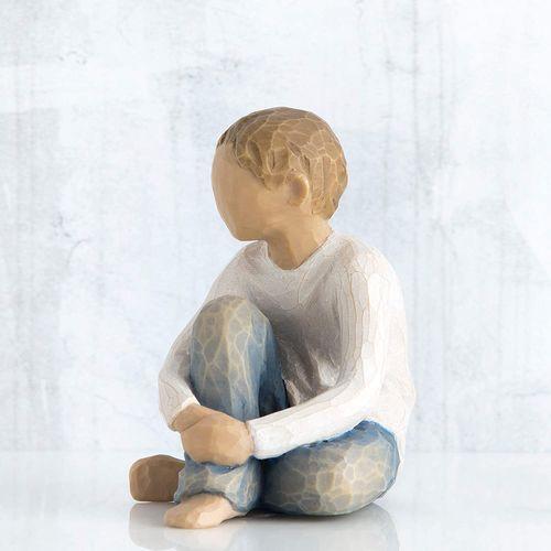 Willow Tree Caring Child Figurine 26228