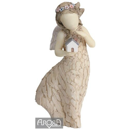 More than words Bless this house figurine by Arora Design