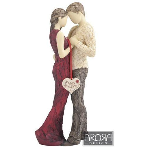 More Than Words Figurines Happy Anniversary Ornament By Arora Design