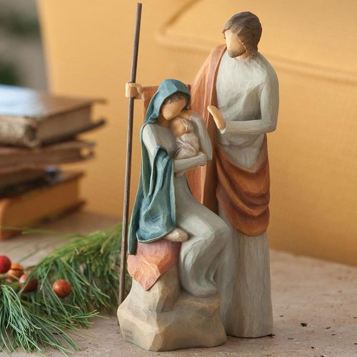 Willow Tree Nativity The Holy Family Figurine 26290