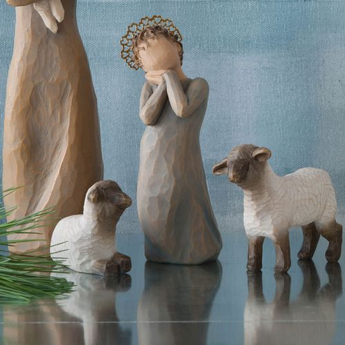 Willow Tree Nativity Little Shepherdess Figurine Set 26442