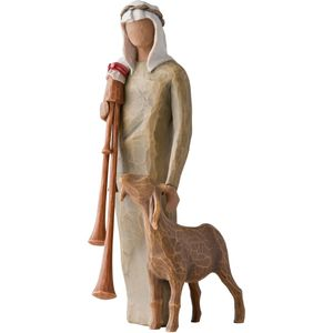 Willow Tree Nativity Zampognaro Shepherd Figurine