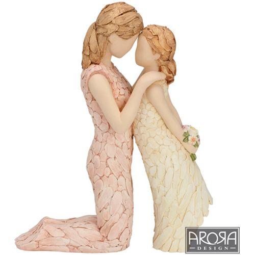 Arora Design More Than Words Mother & Daughter Figure