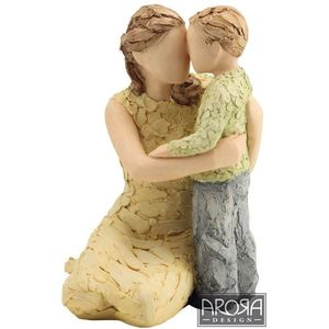 More Than Words My Boy Figurine (Mother & Son)